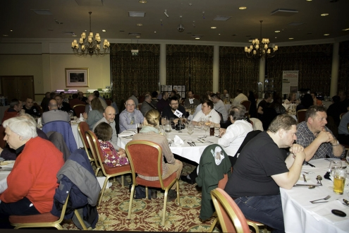 Abb. 02: Abendessen in großer Runde bei der CSG Convention (Foto Andreas TANKE)